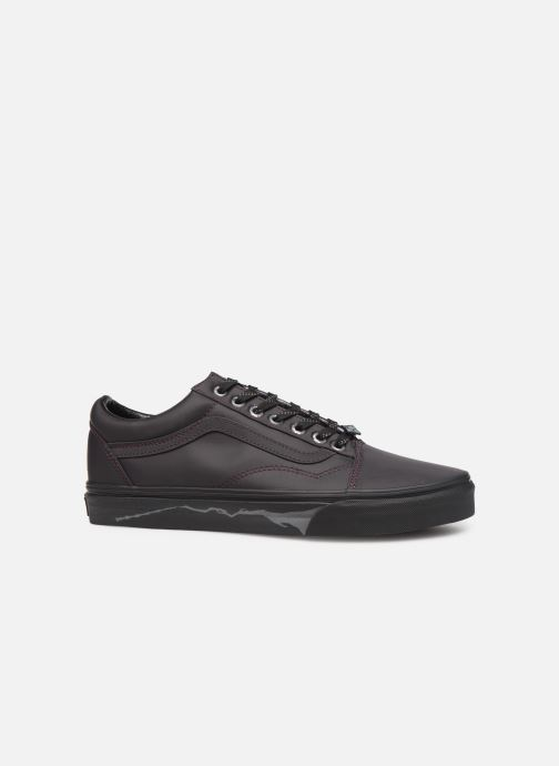 Sneakers Vans Old Skool M Zwart achterkant
