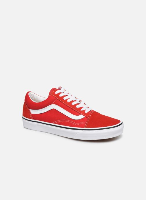 var man kan köpa försäljning med lågt pris special för sko Vans Old Skool M Trainers in Red at Sarenza.eu (399981)