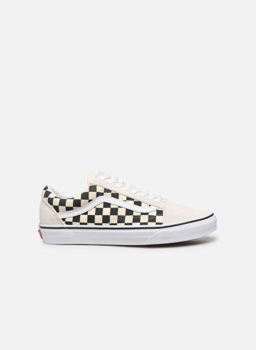Sneaker Vans Old Skool M weiß ansicht von hinten