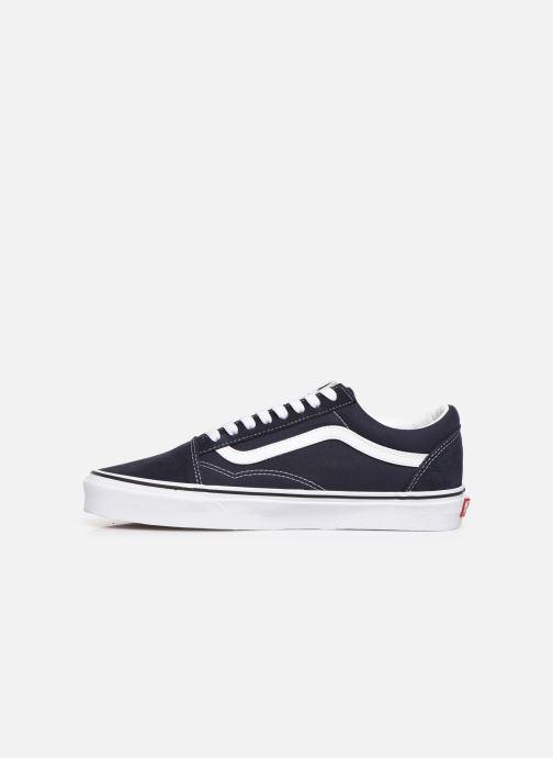 Sneaker Vans Old Skool M blau ansicht von vorne