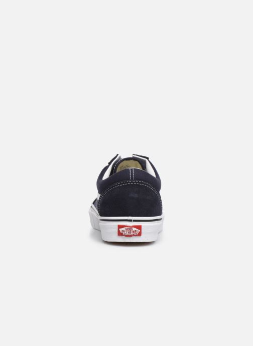 Sneaker Vans Old Skool M blau ansicht von rechts