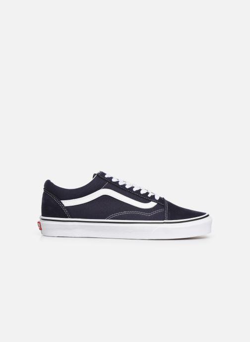 Sneaker Vans Old Skool M blau ansicht von hinten