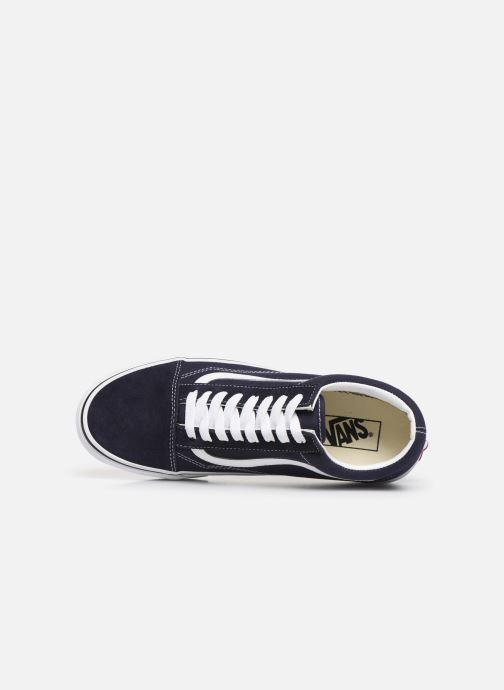 Sneaker Vans Old Skool M blau ansicht von links