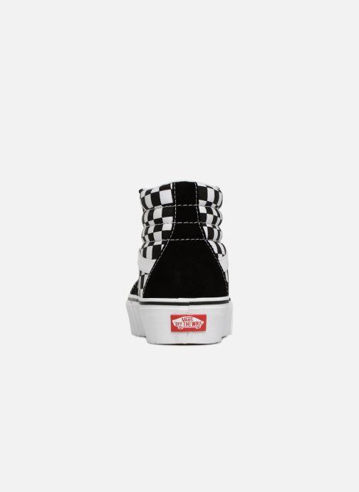 Baskets Vans SK8 Hi Platform Noir vue droite