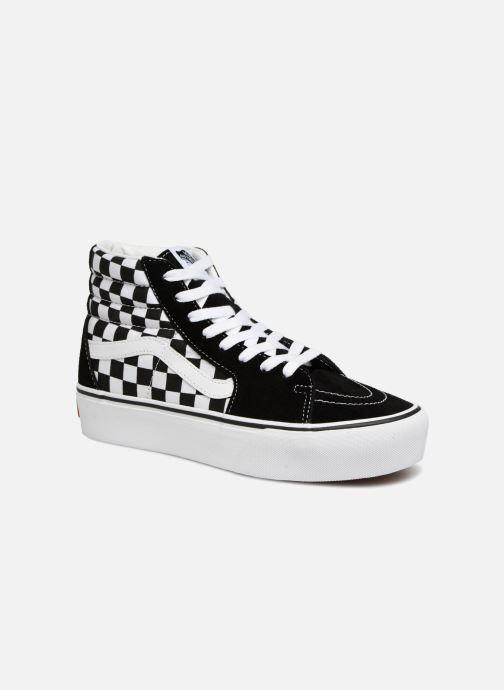 Sneaker Vans SK8 Hi Platform schwarz detaillierte ansicht/modell