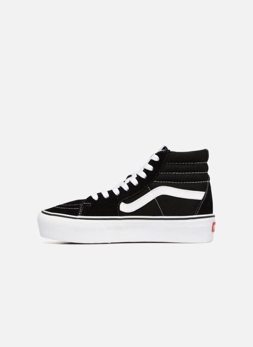 Sneakers Vans SK8 Hi Platform Zwart voorkant