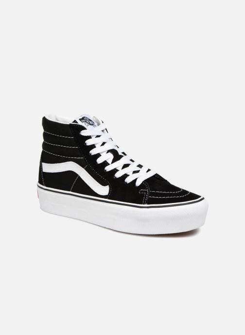 Sneakers Vans SK8 Hi Platform Zwart detail