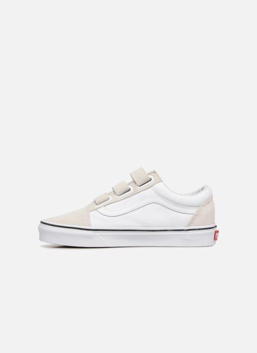 vans blanche a scratch
