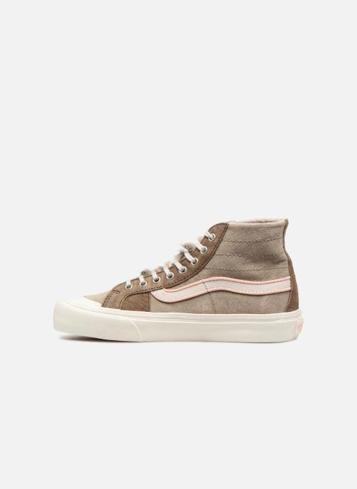 Sneakers Vans SK8-Hi 138 Decon SF Grijs voorkant