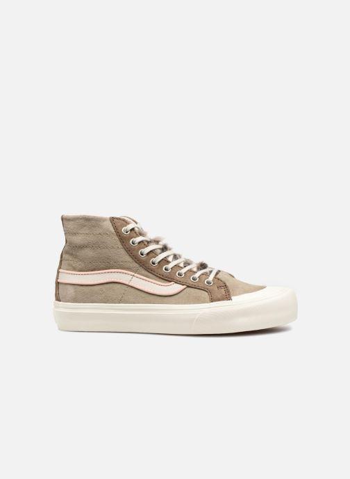 Sneakers Vans SK8-Hi 138 Decon SF Grijs achterkant