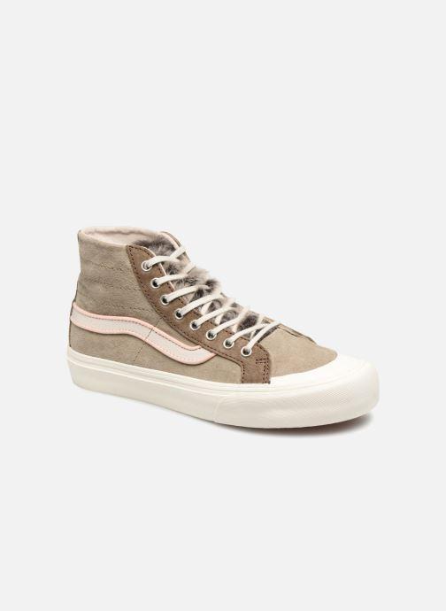 Sneakers Vans SK8-Hi 138 Decon SF Grå detaljerad bild på paret