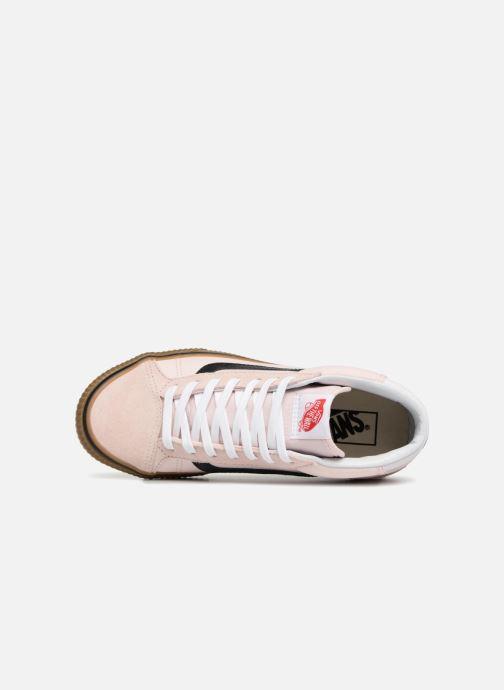 Vans Mid Skool 37 (Pink) Trainers chez Sarenza (332997)