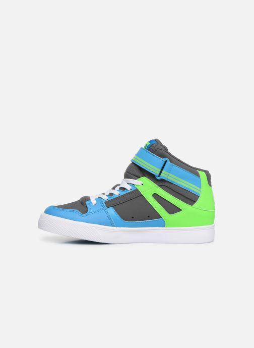 Sneakers DC Shoes Pure High-Top EV Groen voorkant