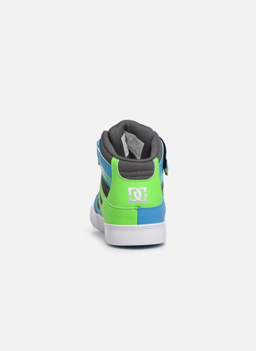 Sneakers DC Shoes Pure High-Top EV Grøn Se fra højre