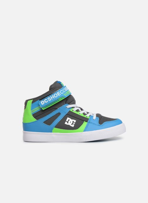 Sneakers DC Shoes Pure High-Top EV Grøn se bagfra