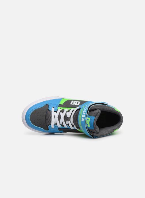 Sneakers DC Shoes Pure High-Top EV Grøn se fra venstre