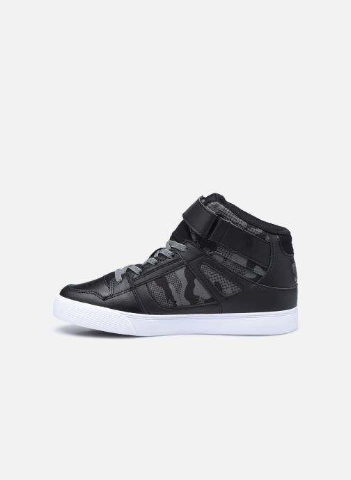 Sneakers DC Shoes Pure High-Top EV Sort se forfra