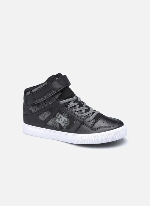 Sneakers DC Shoes Pure High-Top EV Sort detaljeret billede af skoene