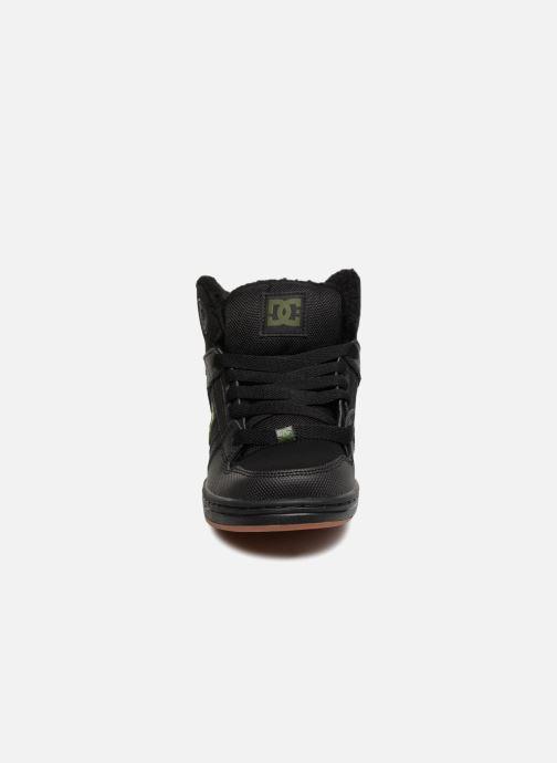 Baskets DC Shoes Pure High-Top WNT Noir vue portées chaussures