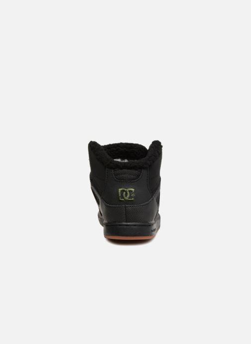 Baskets DC Shoes Pure High-Top WNT Noir vue droite