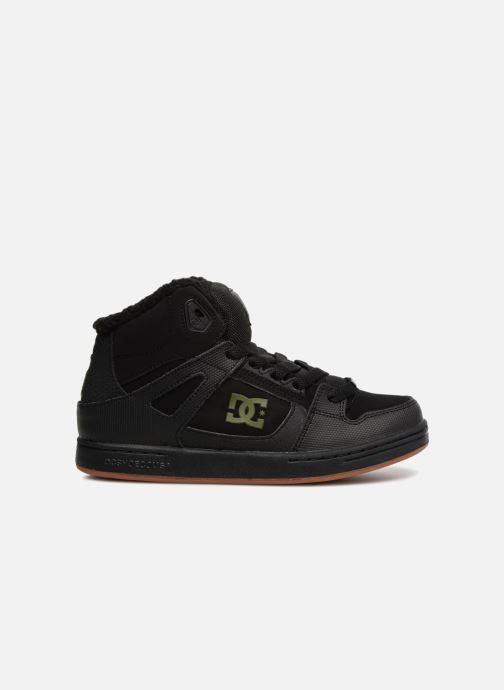 Baskets DC Shoes Pure High-Top WNT Noir vue derrière
