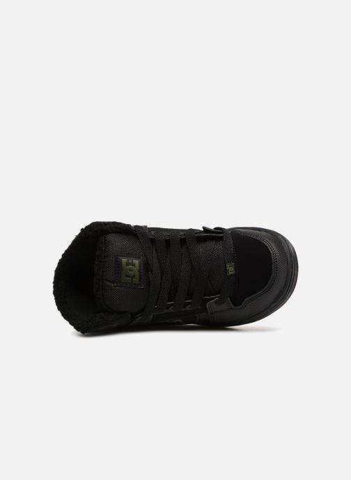 Baskets DC Shoes Pure High-Top WNT Noir vue gauche
