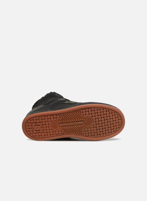 Baskets DC Shoes Pure High-Top WNT Noir vue haut