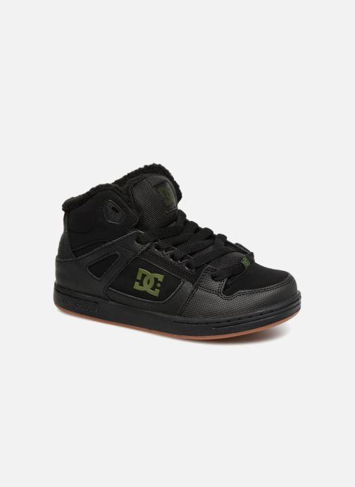 Baskets DC Shoes Pure High-Top WNT Noir vue détail/paire