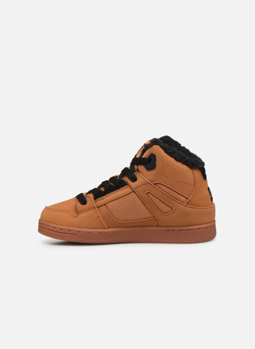 Sneaker DC Shoes Pure High-Top WNT braun ansicht von vorne