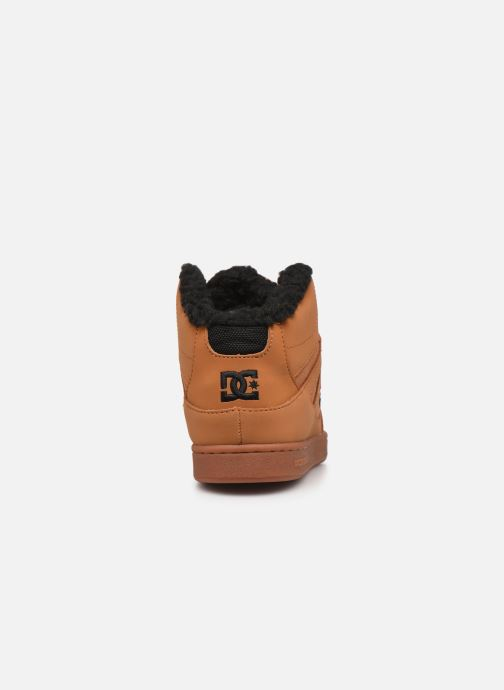 Sneaker DC Shoes Pure High-Top WNT braun ansicht von rechts