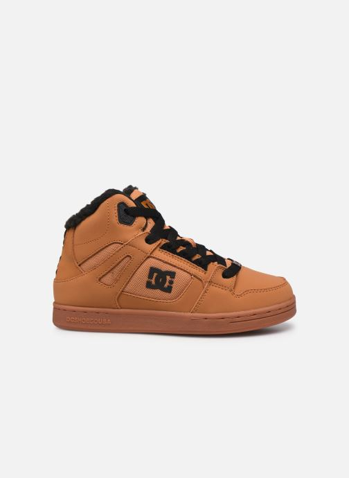 Deportivas DC Shoes Pure High-Top WNT Marrón vistra trasera