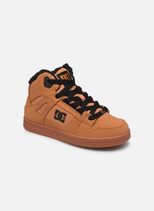 Deportivas DC Shoes Pure High-Top WNT Marrón vista de detalle / par