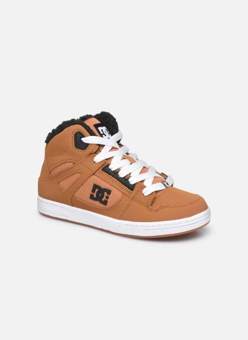 Baskets DC Shoes Pure High-Top WNT Marron vue détail/paire