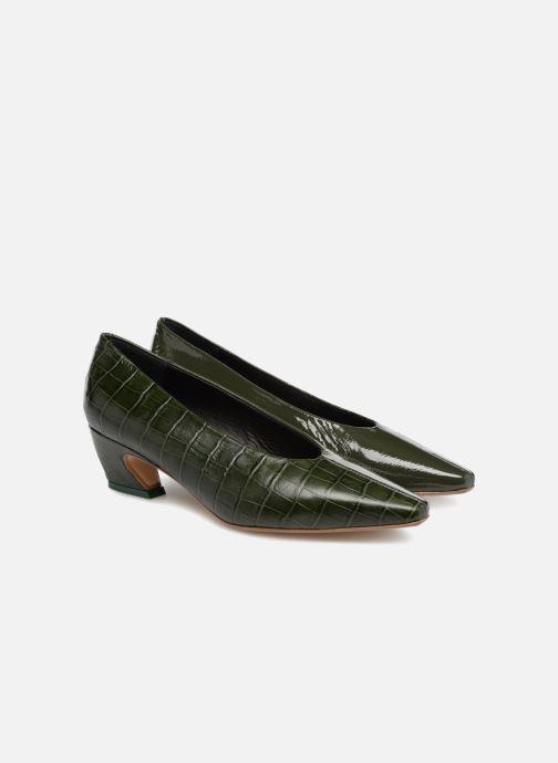 High heels Miista ALBERTINE Green 3/4 view