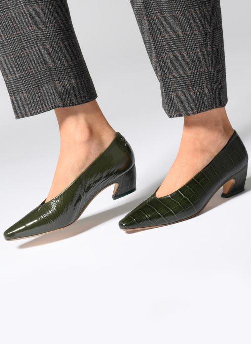 High heels Miista ALBERTINE Green view from underneath / model view