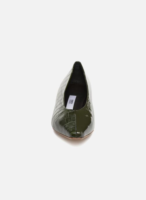 Escarpins Miista ALBERTINE Vert vue portées chaussures