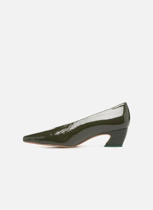 High heels Miista ALBERTINE Green front view