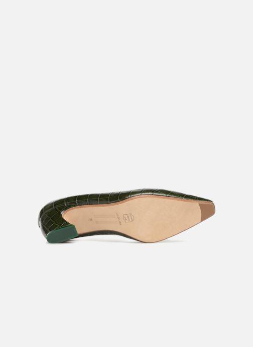 High heels Miista ALBERTINE Green view from above