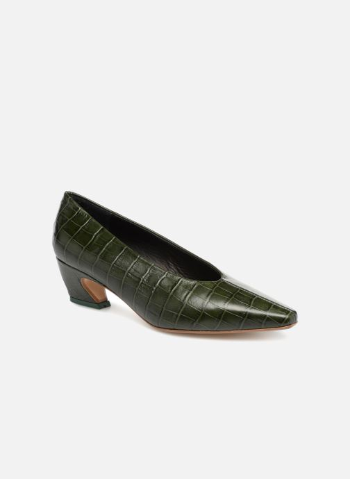 High heels Miista ALBERTINE Green detailed view/ Pair view