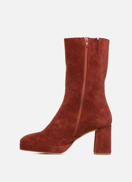 Bottines et boots Miista CARLOTA Rouge vue face