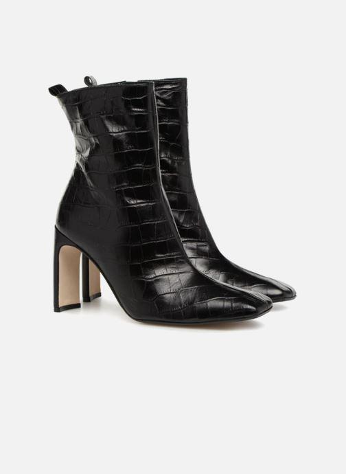 Bottines et boots Miista MARCELLE Noir vue 3/4