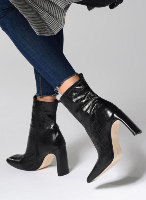 Bottines et boots Miista MARCELLE Noir vue bas / vue portée sac