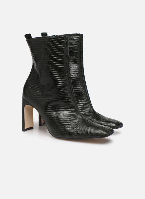 Bottines et boots Miista MARCELLE Vert vue 3/4