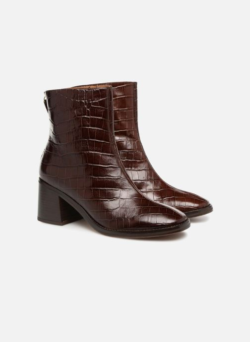 Bottines et boots Miista CYBIL Marron vue 3/4