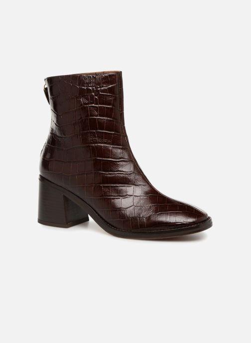 Bottines et boots Miista CYBIL Marron vue détail/paire