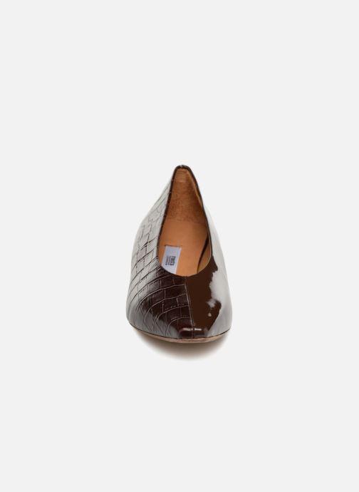 Escarpins Miista ANTONINE Marron vue portées chaussures