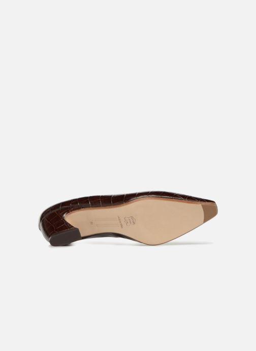Zapatos de tacón Miista ANTONINE Marrón vista de arriba