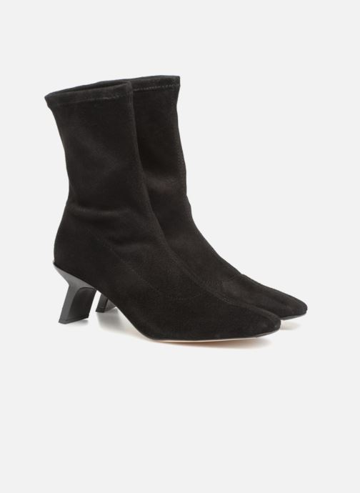 Bottines et boots Miista GENEVIEVE Noir vue 3/4