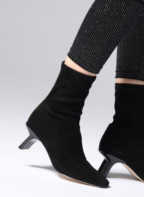 Bottines et boots Miista GENEVIEVE Noir vue bas / vue portée sac