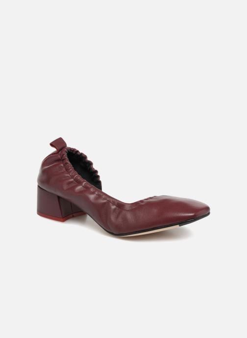Høje hæle Miista ROSALIE Bordeaux detaljeret billede af skoene